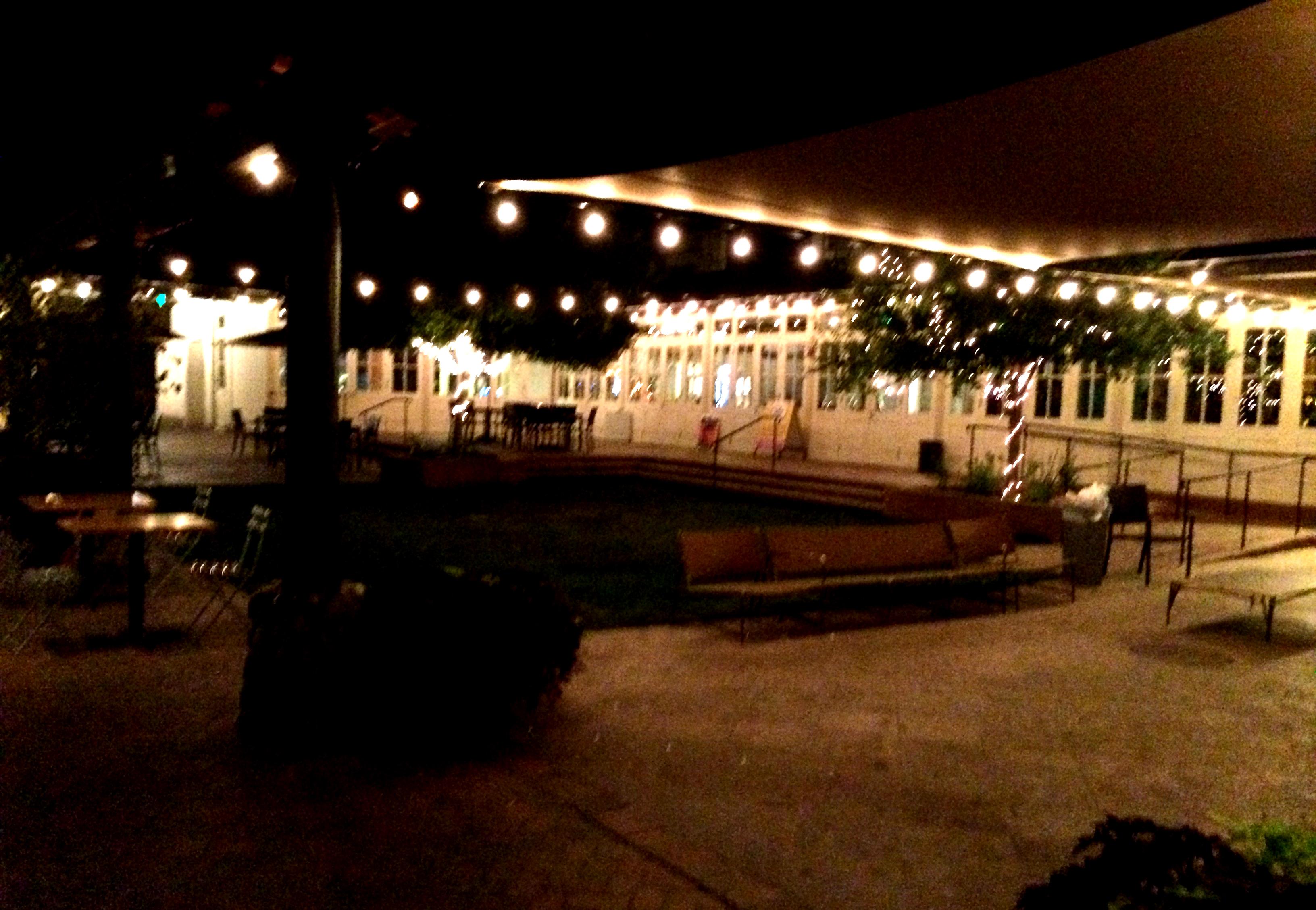 the beautiful mercado san agustin courtyard - Agustin Kitchen